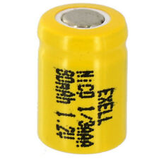 Exell 1/3AAA NiCD 80mAh 1.2V Flat top Rechargeable Battery