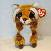 "Rusty the Raccoon - Ty Beanie Boo Plush - Style 36941 - Regular 6"" 15cm - NEW"