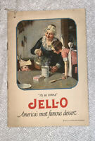 Vintage 1922 Jell-O Dessert Adverting Booklet Lessons Recipes