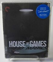 House Of Games (1987) Criterion Blu-ray David Mamet Classic May 14, 2019