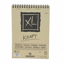 Canson XL Kraft A4 60 page Papier Marron Sketch Pad