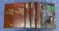 Outdoor Life Deer Hunters Yearbook Lot Of 6 Vintage Books 87, 88, 89, 91 10th An