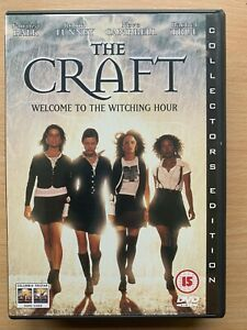 The Craft DVD 1996 Cult Teen Witch Witchcraft Horror Movie Special Edition