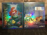 The Little Mermaid (Blu-ray/ DVD, 2 Disc Set Diamond Edition)brand New