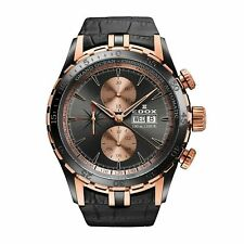 EDOX 01121 357RN GIR Men's Grand Ocean Rose Gold-Tone Automatic Watch