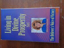 Living in Divine Prosperity Part I Gloria Copeland  VHS Tape