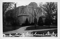 Stanton Nebraska~County Court House~1950s Real Photo Postcard~RPPC