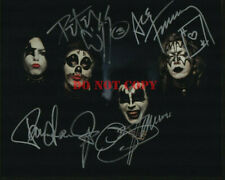 KISS Signed Autographed 8x10 Photo reprint