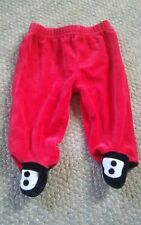 000 First Moments Layette Red Footie Pants6-9 Months