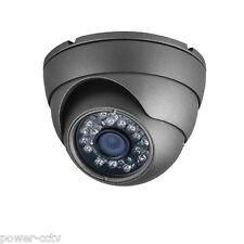 AM 1300TVL Sony CMOS CCD Aluminum Housing Dome Wide Angle 24IR Security Camera