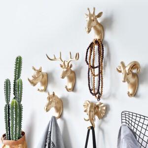Hanger Keys Creative Hanging Hook Holder Wall Home Strong Seamless Sticking Hook
