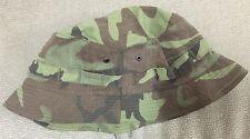 Arvn South vietnam Ranger LRRP Camo Boonie Hat Size 7 1/4(original material)