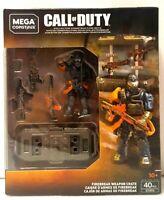 MEGA CONSTRUX CALL OF DUTY FIREBREAK WEAPON CRATE GCN93 VHTF !!