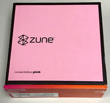 NEW Sealed Zune 30 GB Digital MP3 VIdeo Music Media Player Pink Limited Edition