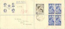 BASUTOLAND 1948 ROYAL SILVER WEDDING SG36/7 ON ILLUS FDC