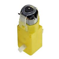10 Pack TT Geared Car Gear Motor Dual Shaft DIY Gear Fit for Arduino Car Yellow