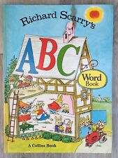 Richard Scarry's  ABC Word Book by Richard Scarry  VINTAGE.Hardback 1974 Collins