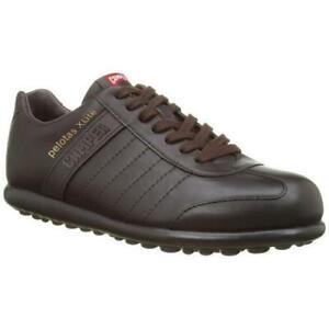 Camper Mens Pelotas Ariel X Lite Brown Leather Lace Up Shoes Size UK 7-12
