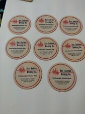 New listing 8 San Andreas Brewing Company Coaster - Earthquake Country Pub - Hollister Ca