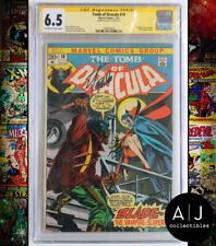 Tomb of Dracula #10 CGC 6.5 (Marvel) Signed Stan Lee 1973