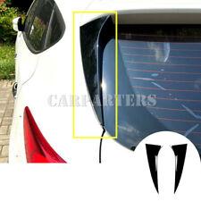 For Hyundai Tucson IX35 Black Rear Window Spoiler Side Wing Trim Cover 2010-2017