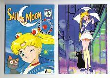 Sailor Moon POST CARD BOOK Luna Edition 14 CARTOLINE in perfetto!