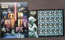 Yoda Star Wars US Stamps