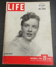 LIFE Magazine, November 8th 1948