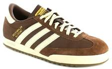 New Mens/Gents Brown/Cream Leather Adidas Originals Trainers UK Size