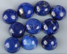 5 piezas de inusual Redondas de cabujón de 5 Mm-Cut Natural Lapislázuli piedras preciosas £ 1 Nr