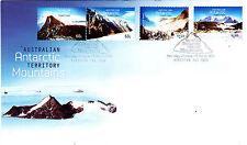 2013 AAT Antarctic Mountains (Gummed) FDC - Kingston Tas 7050 PMK