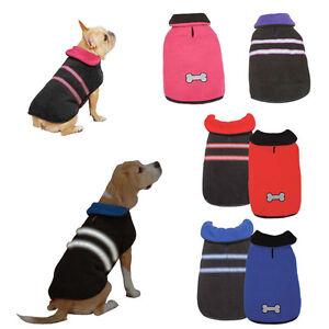 Zack & Zoey Warm Reflective Reversible Thermal Dog Jacket - Choose Size & Color