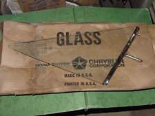 66 67 Charger GTX Satellite Coronet 500 NOS MoPar R/T VENT GLASS LH Clear