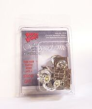 Hoppin Hydros Lowrider Chrome Speakers Amps Batteries 1/24 1/25 scale Model Kit