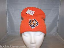 Cincinnati Bengals NFL Knit Stocking Skull Cap Hat - Orange