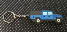 Landrover 130 Key Anello Double Cab with 3/4 Tilt Blue