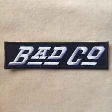 BAD COMPANY CO ROCK BAND MUSIC PAUL RODGERS EMBROIDERY IRON ON PATCH BADGE