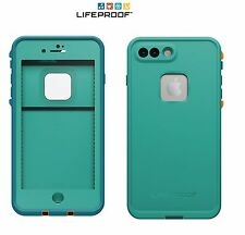 LifeProof FRE Waterproof Case For iPhone 7+ Plus Sunset Bay Light Teal NEW OEM