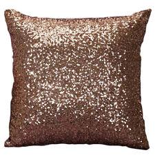 R Mermaid Pillow Sequin Cover Glitter Sofa Waist Throw Cushion Case Home Decor