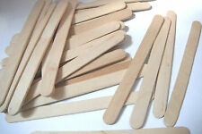 150 Lolly Lollipop Sticks Natural Wooden Lollies for Craft Sticks Regular Sticks
