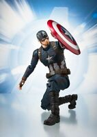 """CAPTAIN AMERICA AVENGERS END GAME S.H. Figuarts SHF 6"""" Action Figure New"""