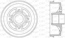 TAMBOUR DE FREIN POUR RENAULT CLIO I 1.1,1.4,1.9 D,1.2,CLIO I CAMIONNETTE 1.9 D