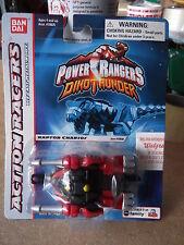 Power Rangers Dino Thunder 1:64 Die Cast Metal Body RAPTOR CHARIOT Action Racers