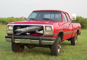 GrillAdz® Premium 1980-93 Dodge Ram We The People Bug Screen BS903-WTP