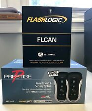Prestige APS787Z 1-Way Remote Start & Car Alarm & FLCAN Bypass Bundle 2 pcs NEW