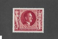MNH Adolph Hitler stamp PF12 + PF38 1943 Birthday WWII Germany Third Reich era