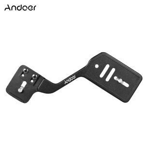 Andoer Universal Aluminum Bracket Mount Holder for Camera Speedlite Flash E8F8