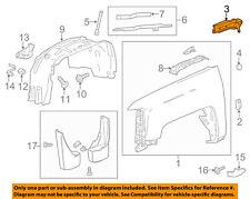GM OEM-Fender Upper Bracket Left 22992040