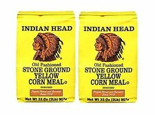 Indian Head Old Fashioned Stone Ground Yellow Corn Meal (2 Pack... Free Shipping