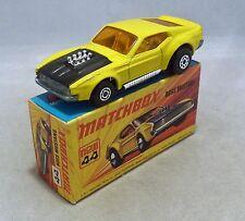 Matchbox Superfast MB44 Boss Mustang